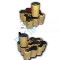 9,6V szerszámgép akku felújítás Ni-Cd (RealPower cella)