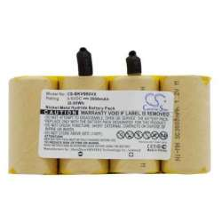 9.6V 3000mAh porszívó akku készítés/felújítás