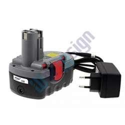 Bosch GSA 18VE O 2000mAh utángyártott akku Li-Ion + töltő